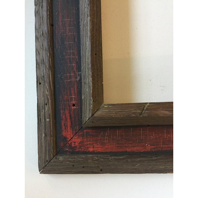 Mid-Century Painted Wormwood Frame - Image 5 of 7