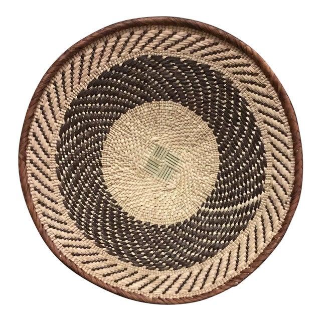 Binga Basket | Tonga Baskets 22 | African Basket | Woven Basket |Zimbabwe Basket |Ethnic Pattern |Ethnic Decor |Wall Hanging Basket - Image 1 of 8