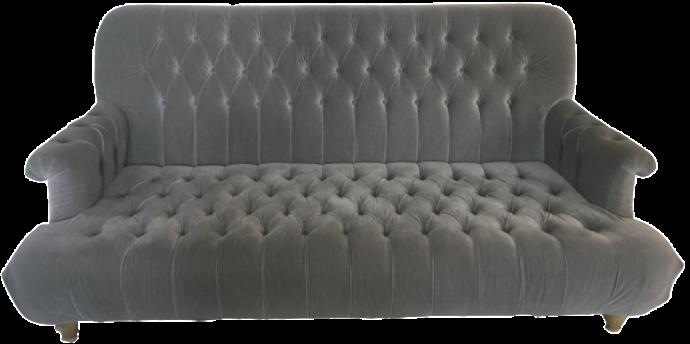19th C. Napoleonic Tufted Upholstered Sofa