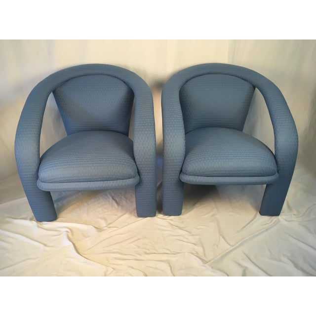Vintage Carson Chairs- a Pair For Sale - Image 9 of 10