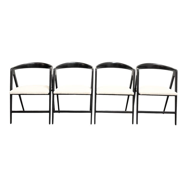 Mid Century Modern Italian Dining Chairs For Sale