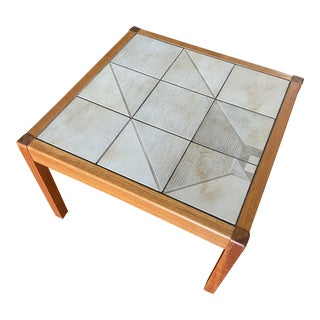 Mid Century Danish Accent Table For Sale