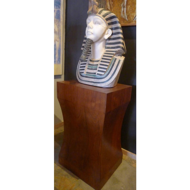 Marble Bust of Egyptian Pharaoh - Image 8 of 8