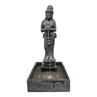 Standing Siwa Trough Fountain For Sale