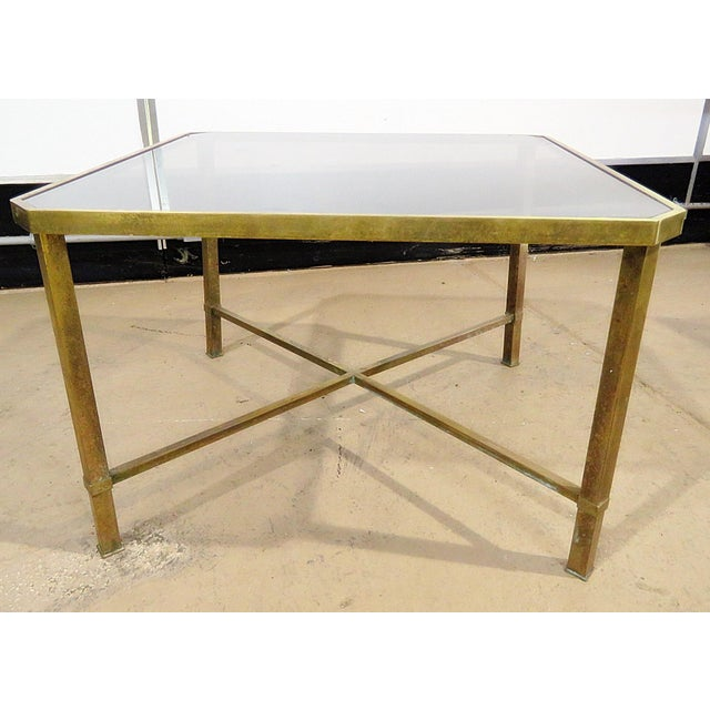Italian Modern Glass Top Coffee Table For Sale In Philadelphia - Image 6 of 11