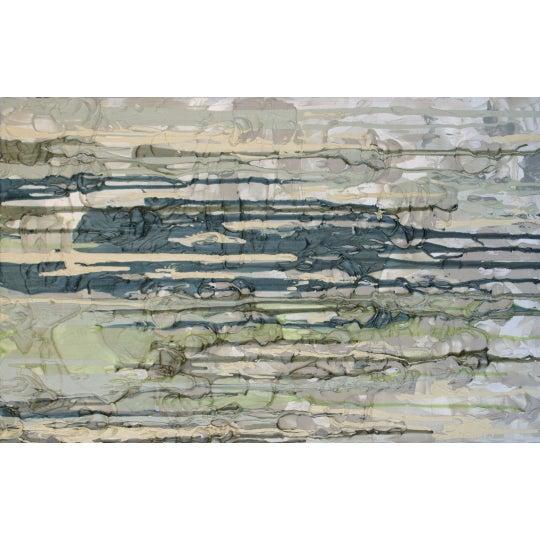 Desert Landscape Textured Acrylic Painting - Image 1 of 2