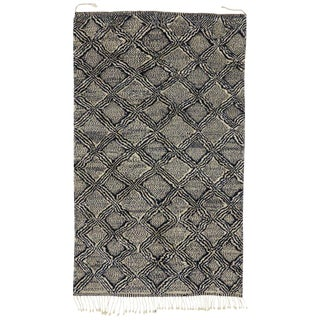 Moroccan Rug With Diamond Trellis - 5'8 X 10'4 For Sale