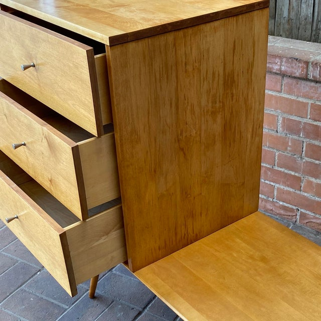 Mid-Century Modern Paul McCobb Planner Group by Winchendon Modular Cabinet and Bench For Sale In Phoenix - Image 6 of 13