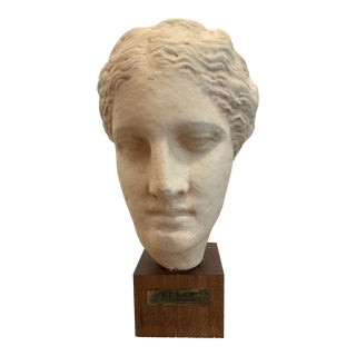 Mid 20th Century Italian Hygeia Greek Bust Goddess of Health For Sale
