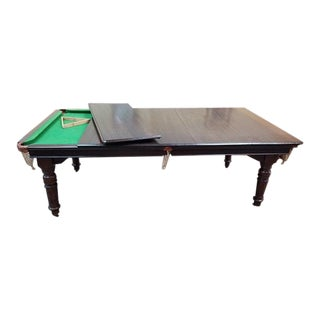 Dining/ Snooker Table c.1880