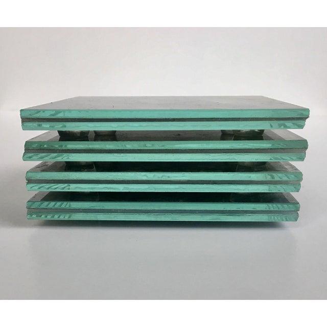 Upcycled Glass Coasters - Set of 4 - Image 5 of 8