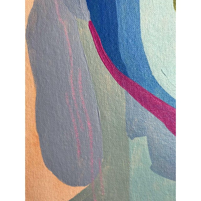 "Contemporary Abstract Portrait Painting ""Here We Go"" For Sale In Detroit - Image 6 of 8"