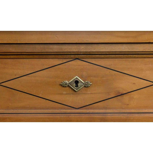 Neo Directoire Style Fruitwood Chest of Drawers For Sale - Image 4 of 10