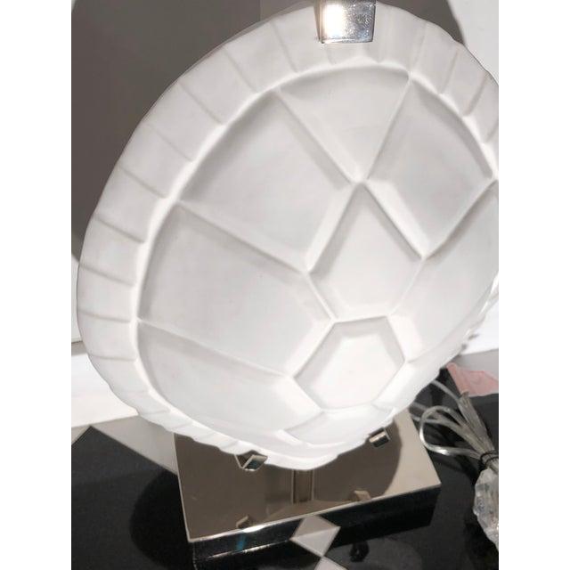 Figurative Jonathan Adler Tortoise Shell Lamp For Sale - Image 3 of 6