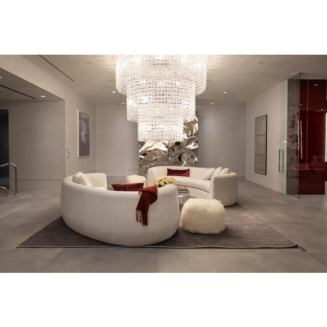Vesta Maxine Rounded Sofa For Sale In Los Angeles - Image 6 of 6