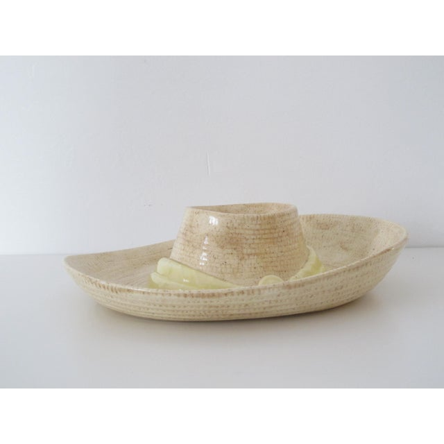 Sombrero Chip n' Dip Party Platter For Sale - Image 7 of 8