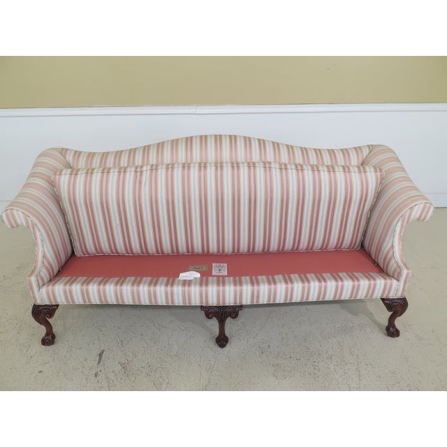 Modern Southwood Ball & Claw Chippendale Upholstered Sofa For Sale - Image 10 of 13