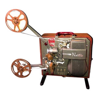 Antique Cinema Display: National Projector Company, Natco, Cinema Projector Circa 1947, as Display Sculpture Piece For Sale