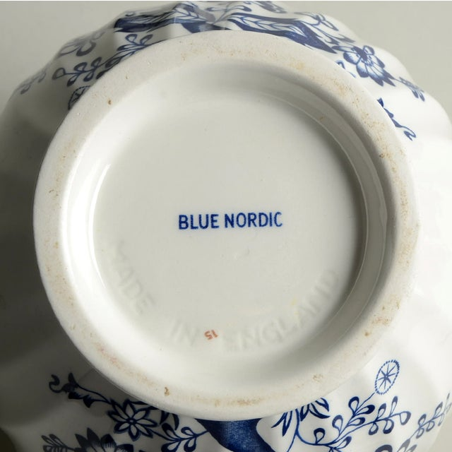 Johnson Brothers Blue Nordic Teapot & Lid For Sale In Greensboro - Image 6 of 7