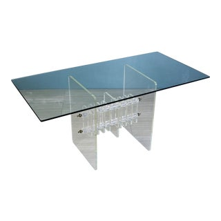 Modernist Lucite Coffee Table