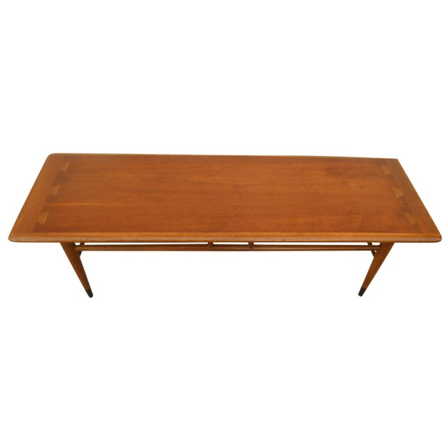 Lane Mid-Century Surfboard Coffee Table