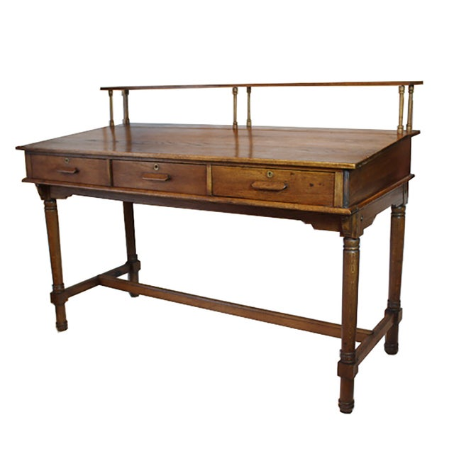 Early 20th Century Monumental Standing Desk - Image 1 of 10