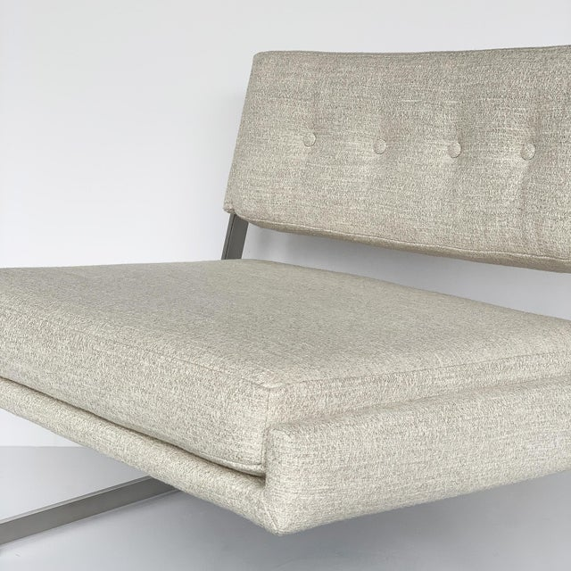 Pair of Harvey Probber Cantilever Slipper Lounge Chairs For Sale - Image 11 of 13