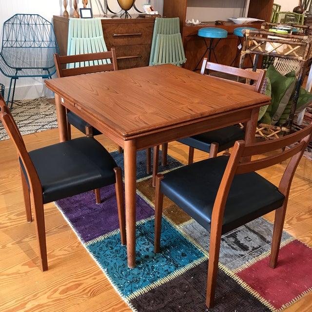 Am Mobler Danish Teak Expandable Table - Image 9 of 10