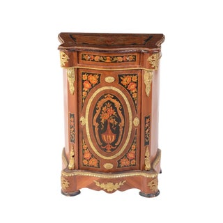 Vintage Italian Rococo Style Painted Cabinet For Sale