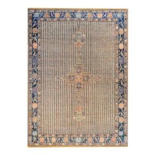 19th Century Antique Afshar Rug For Sale