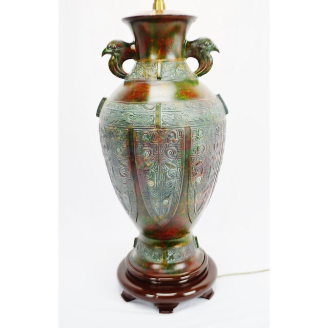 Marbro Mid-Century Egyptian Design Table Lamp - Image 2 of 11
