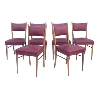 Vintage Italian Dining Chairs- Mid-Century Modern For Sale