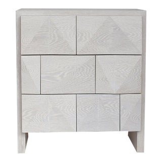 Contemporary Facet Side Table by Cuff Studio For Sale