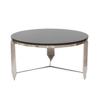 Modern Laramie Marble Top Coffee Table
