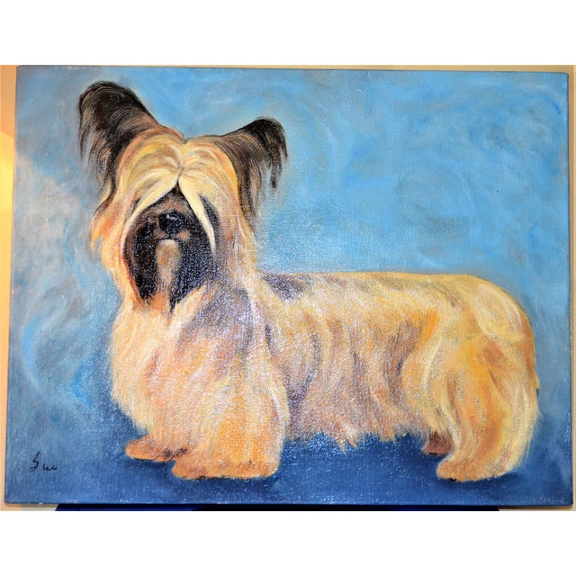 Yorkshire / Skye Terrier Acrylic Painting - Image 2 of 10