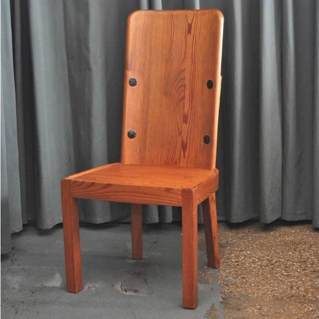 "Mid-Century Modern Set of Six ""Lovo"" Chairs by Axel Einar Hjorth For Sale - Image 3 of 7"