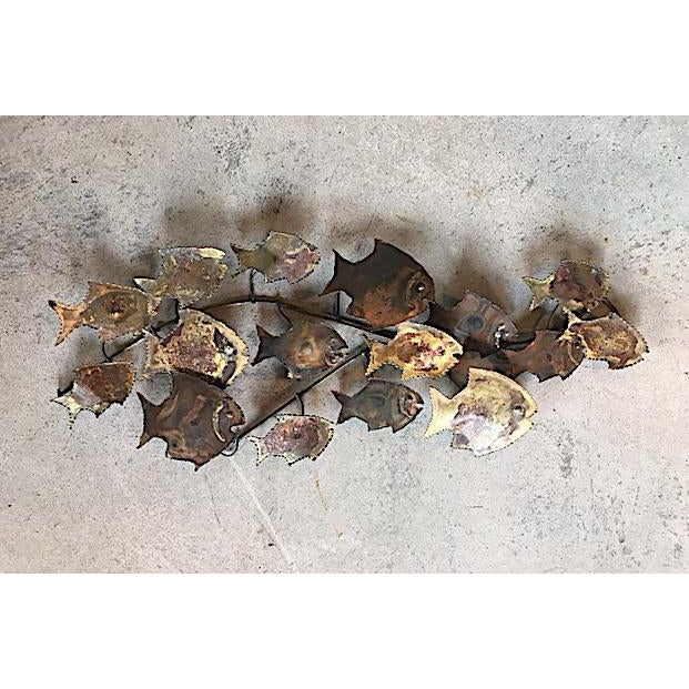 Curtis Jere Style Fish Wall Sculpture - Image 2 of 6