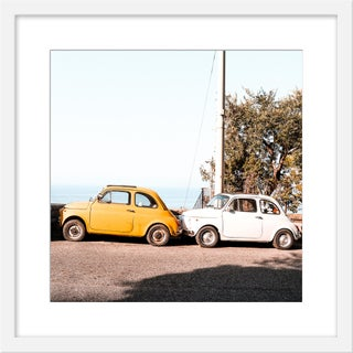"Medium ""Positano"" Print by Natalie Obradovich, 20"" X 20"" For Sale"