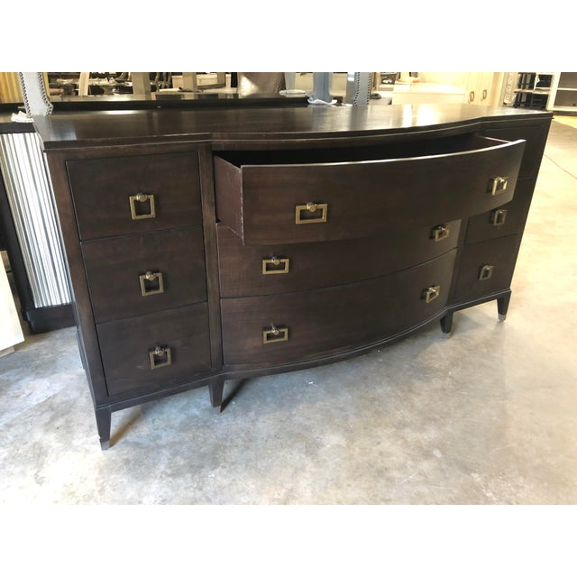 2010s Traditional Dark Walnut Dresser For Sale - Image 5 of 6