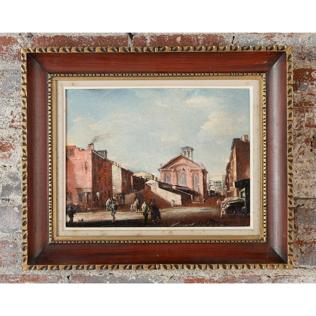 French Impressionist Street Scene Oil Painting - Image 2 of 10