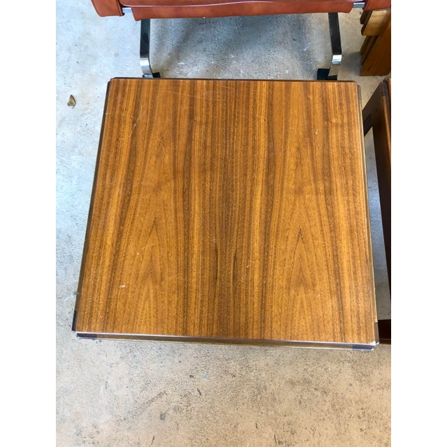 20th Century Danish Mahogany End Tables - a Pair For Sale - Image 4 of 9