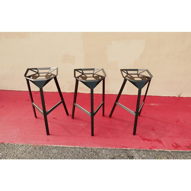 Abstract Modern Magis Italian Bar Stool For Sale - Image 3 of 11