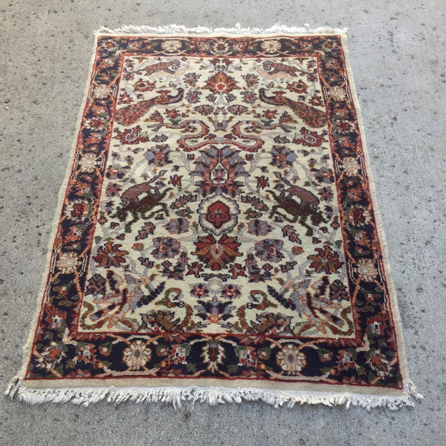 "Hand Knotted Persian Rug - 2'1"" X 3'1"" - Image 2 of 5"