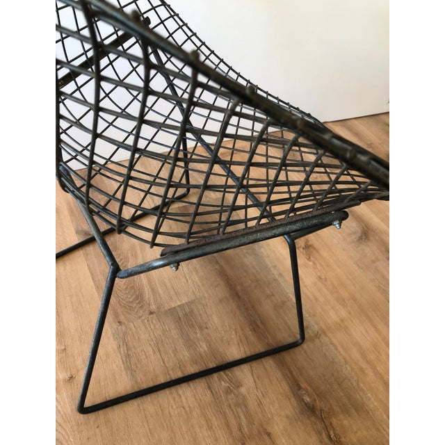 "1960s Mid-Century Harry Bertroia-Designed ""Diamond Chair"" for Knoll For Sale - Image 5 of 10"