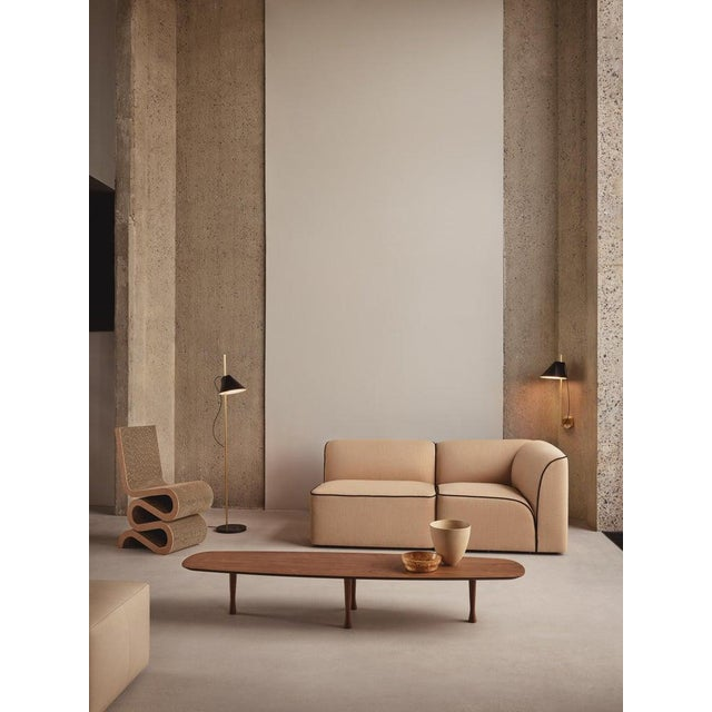 Louis Poulsen GamFratesi White and Brass 'Yuh' Wall Light for Louis Poulsen For Sale - Image 4 of 6