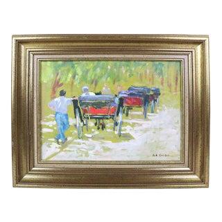 Robert Huben Landscape For Sale