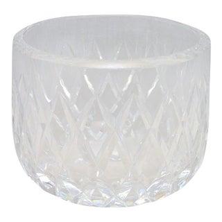 Orrefors Cut Crystal Bowl