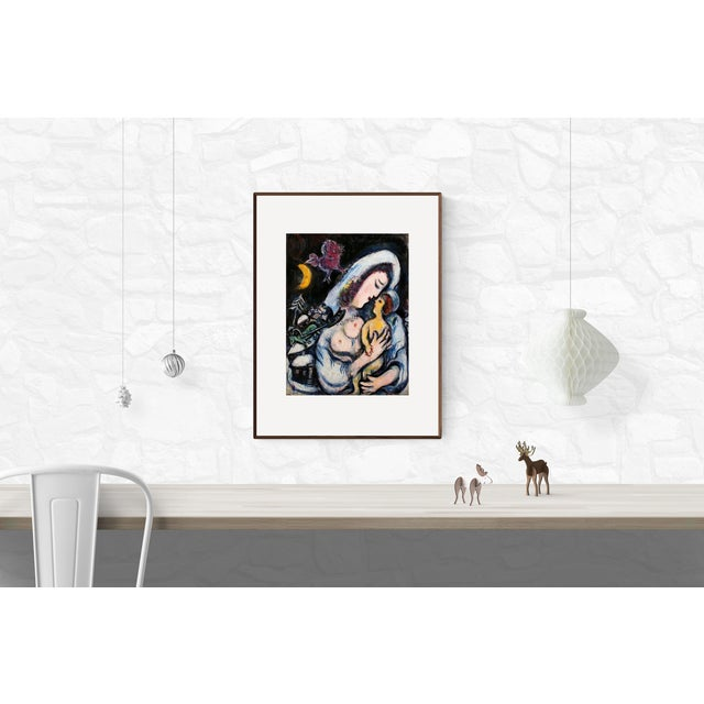 Expressionism Marc Chagall, Motherhood, Poster For Sale - Image 3 of 4