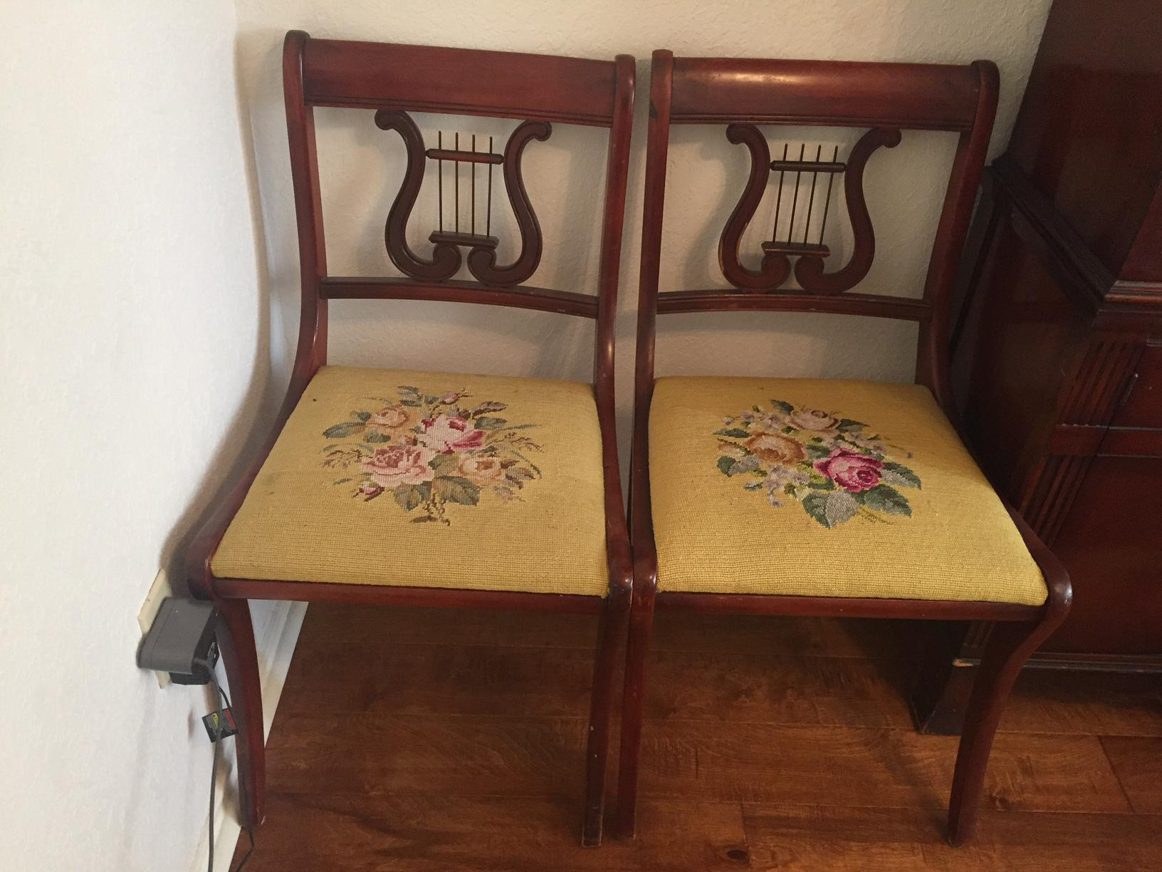 Drexel Heritage Vintage Mahogany Dining Set  Table And 6 Chairs   Image 4  Of 10