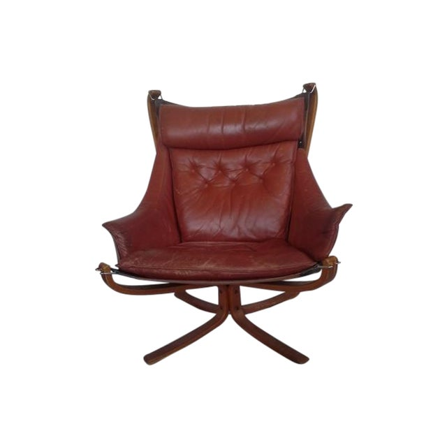 Sigurd Russell High Back Falcon Chair - Image 1 of 6